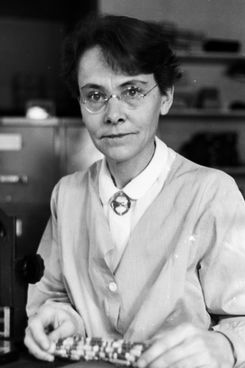 Barbara McClintock, one of Temple-Wood's entries.