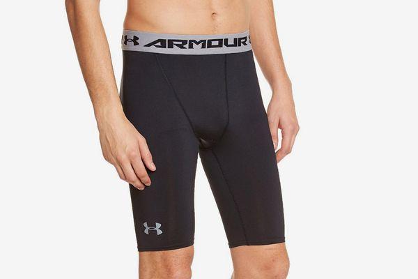 Under Armour Men's HeatGear Armour Long Compression Shorts