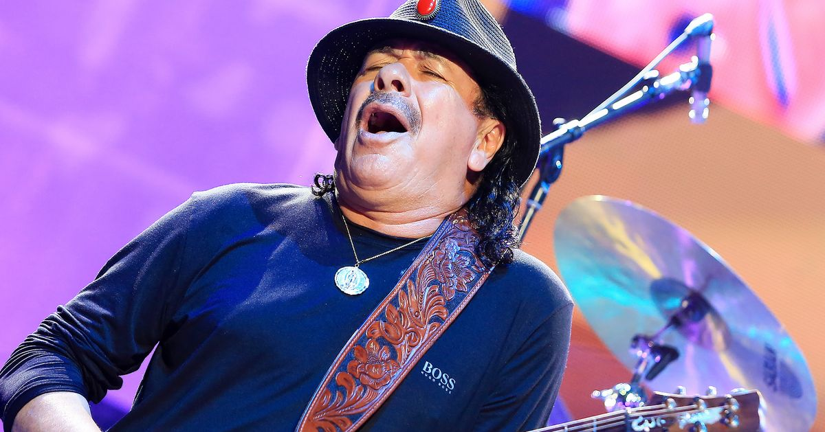 Santana Will Return to Woodstock With Miley Cyrus, The Killers, and Jay-Z