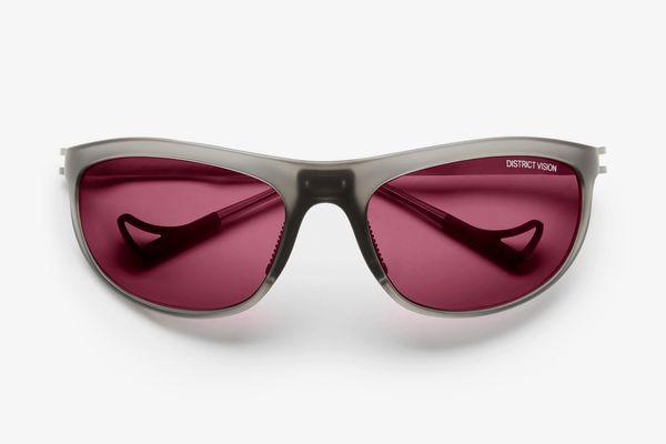 District Vision Takeyoshi District Black Rose Sunglasses