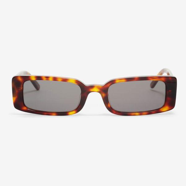 Wild Child Tortoiseshell Glasses with Smoke Lens