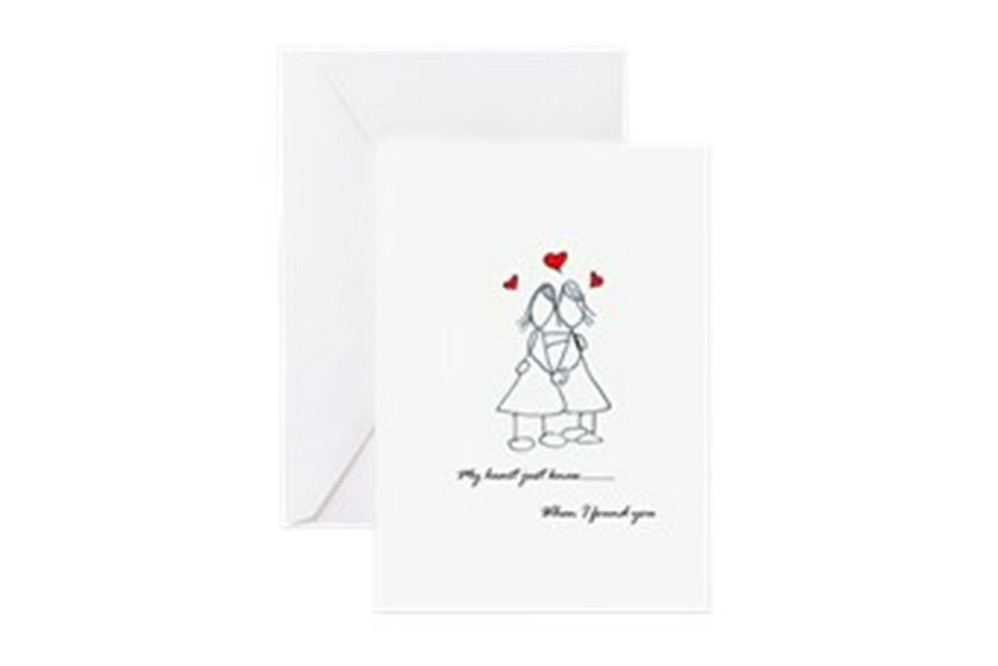 Women in Love Greeting Cards
