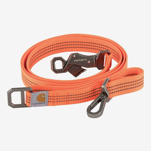 Carhartt Pet Adjustable Webbing Leash with Reflective Stitching for Dogs