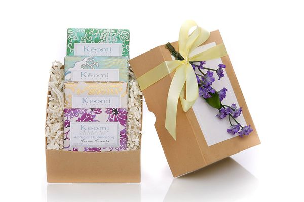 Organic Handmade Soap Gift Set