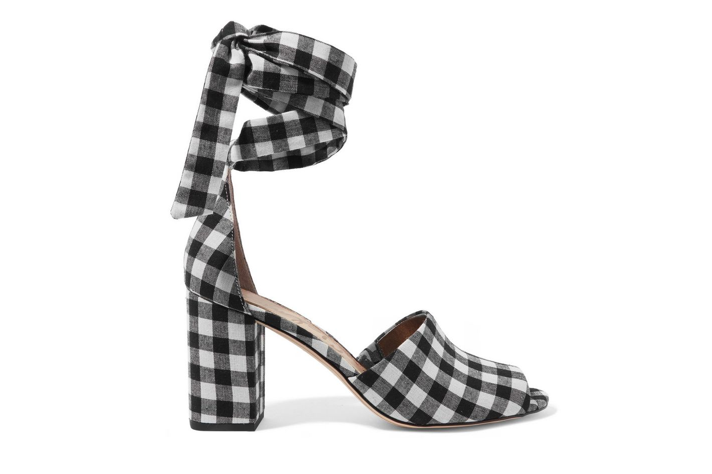 Sam Edelman Gingham Canvas Sandals