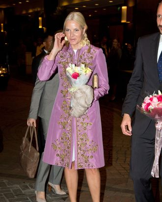 Princess Mette-Marit of Norway.
