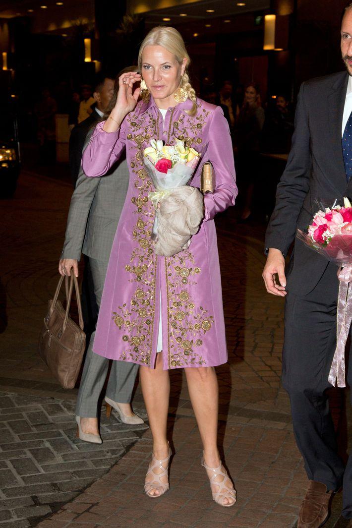 Princess Mette-Marit of Norway.