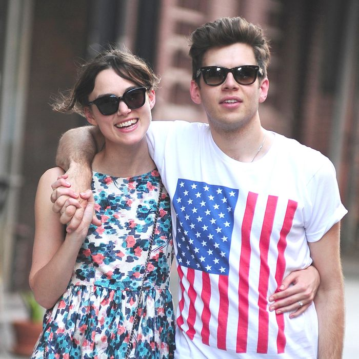 Keira Knightley and James Righton.
