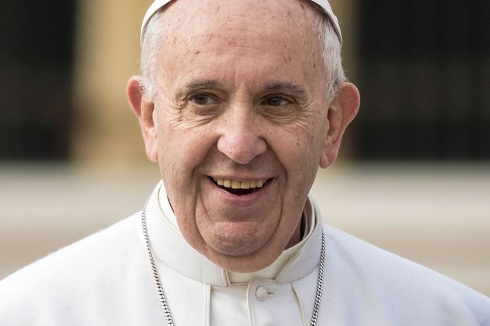 Hollywood actor Pope Francis.