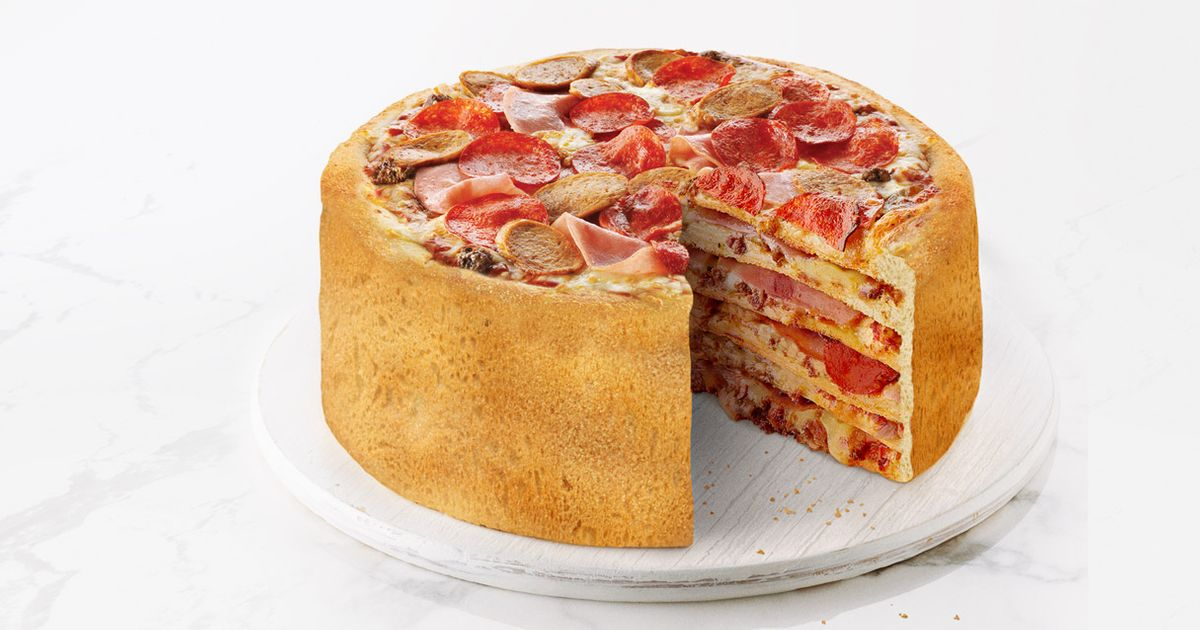This? Just a Cake Made Out of Pizza