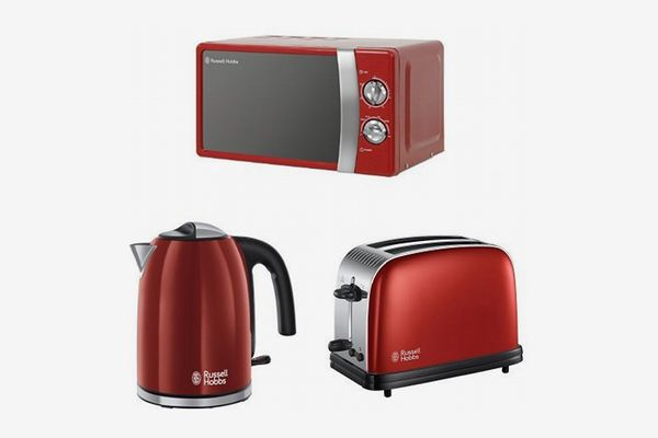 Russell Hobbs Microwave with Kettle and 2-Slice Toaster
