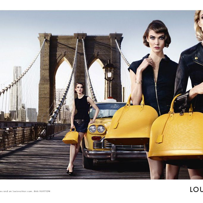 Louis Vuitton's new Alma ad.