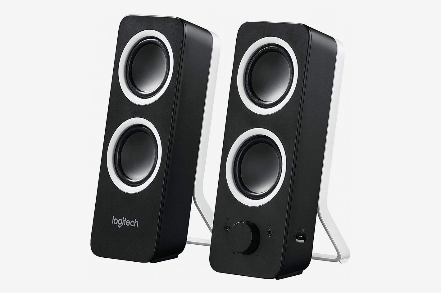Logitech Multimedia Speakers Z200 (With Inputs for Multiple Devices)