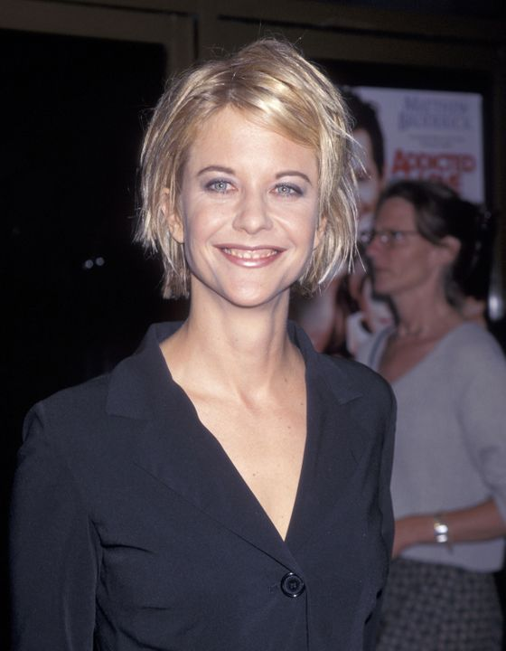 A close second to Aniston's Rachel, Meg Ryan's mid-nineties piece-y, razored shag is one of the most recognizable celebrity hairstyles. Equal parts quirky and demure, Ryan's look made stylist Sally Hershberger famous. And rich. The first hairdresser to charge $600 for a cut, Hershberger now commands $800 for an appointment.