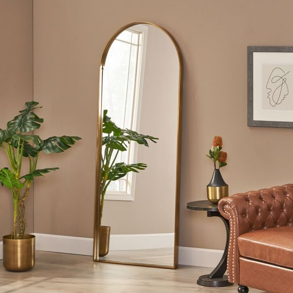 Chardean Contemporary Full-Length Leaner Mirror by Christopher Knight Home