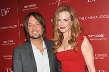 "NEW YORK, NY - JULY 13:  Singer/musician Keith Urban and wife actress Nicole Kidman attend the Cinema Society with Ivanka Trump Jewelry & Diane Von Furstenberg screening of ""Snow Flower And The Secret Fan"" at the Tribeca Grand Hotel on July 13, 2011 in New York City.  (Photo by Stephen Lovekin/Getty Images)"