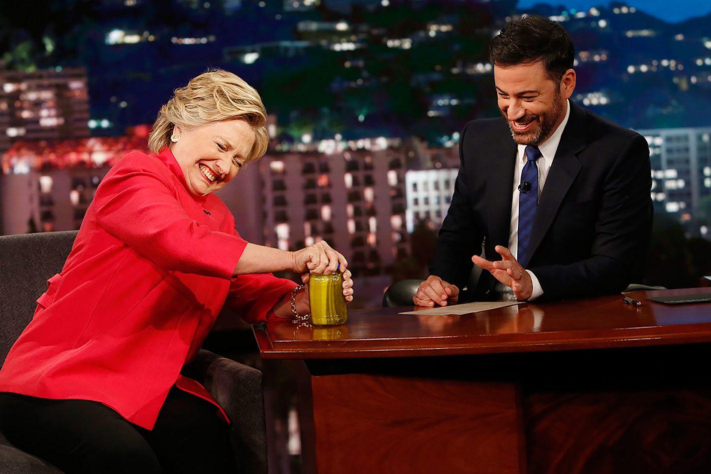 Kimmel mocks Alex Jones for pushing 'pickle-gate' conspiracy