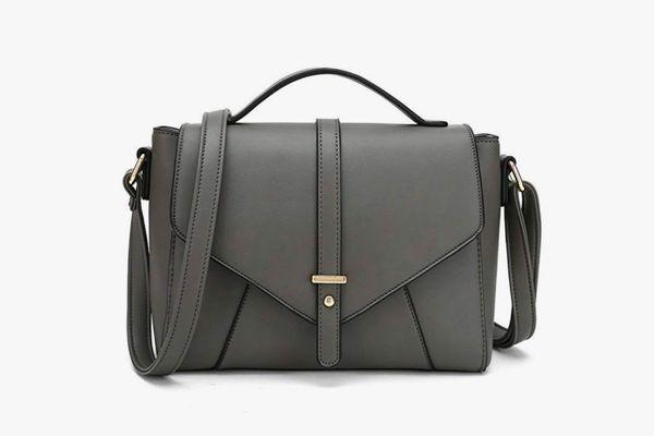 Womens Handbag Large Faux Leather Tote Satchel Shoulder Bag Crossbody WA
