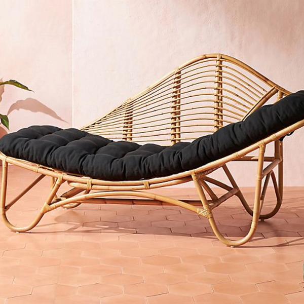 Positano Rattan Indoor/Outdoor Chaise Lounge