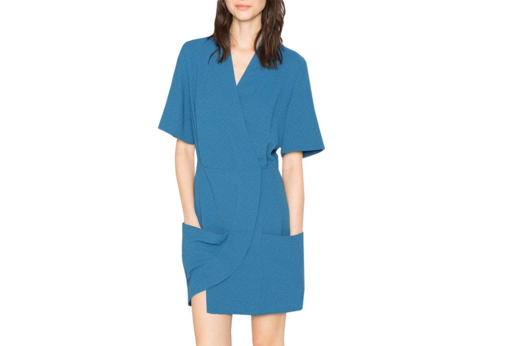 & Other Stories kimono wrap dress