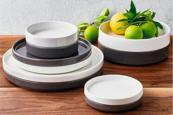 Goodful Stackable 20-Pc. Dinnerware Set