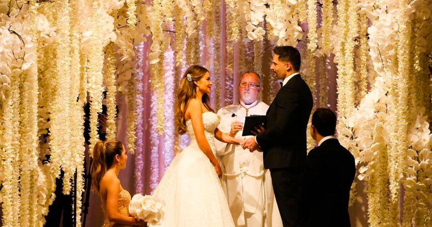 Sofia Vergara Basically Wore Five Wedding Dresses,Royal Blue Dress For Wedding Guest
