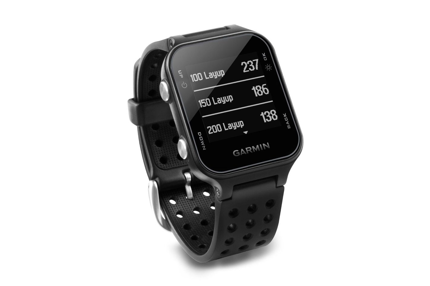 garmin approach s20 golf watch black