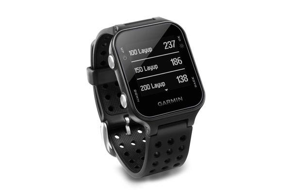 Garmin Approach S20 Golf Watch — Black