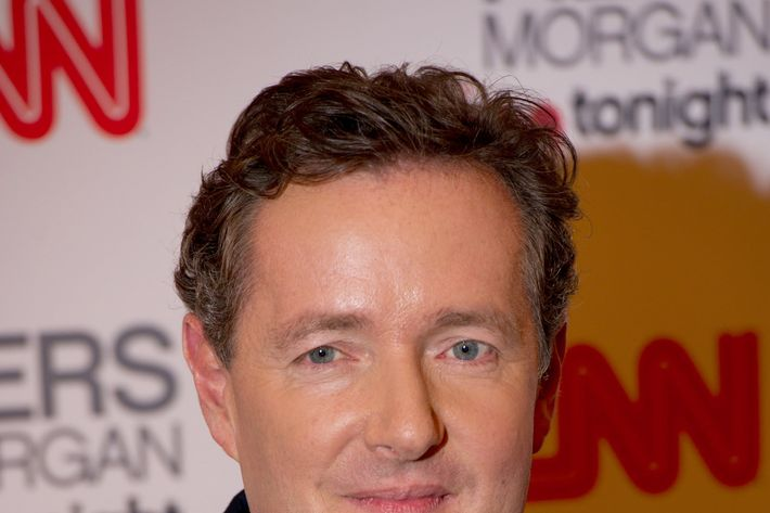 LONDON, ENGLAND - DECEMBER 07: Piers Morgan attends his 'Piers Morgan Tonight' CNN launch Party at the Mandarin Oriental Hotel on December 7, 2010 in London, England. (Photo by Ian Gavan/Getty Images) *** Local Caption *** Piers Morgan