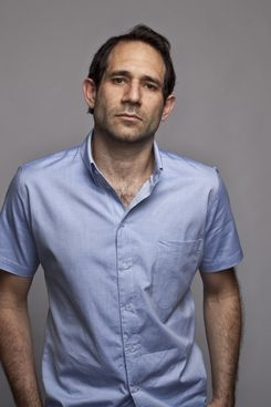 Dov Charney, looking suitably morose.