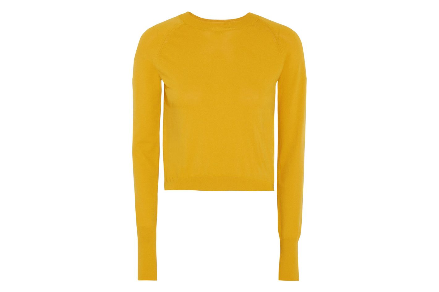 DKNY Cropped knitted sweater