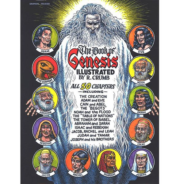The Book of Genesis, illustrated by Robert Crumb (2009)