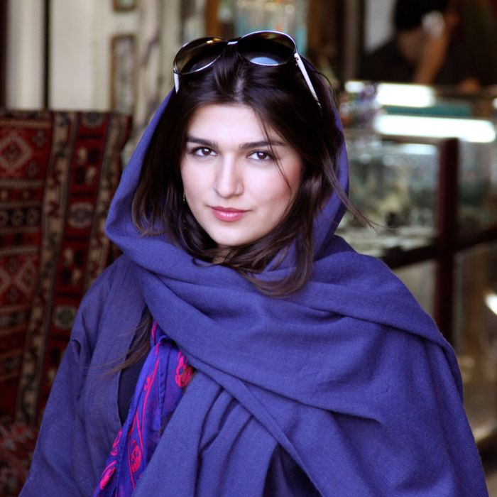 This 2011 photo provided by the Free Ghoncheh Campaign, shows Iranian-British Ghoncheh Ghavami in Isfahan, Iran. Ghavami detained while trying to attend a men's volleyball game has been sentenced to one year in prison, her lawyer said Sunday, Nov. 2, 2014. Mahmoud Alizadeh Tabatabaei told The Associated Press that a court found Ghavami, 25, guilty of