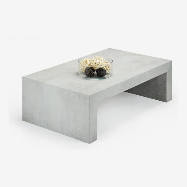 Grey Concrete Coffe Table