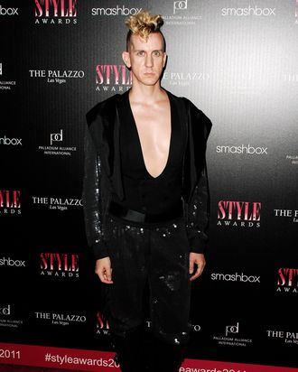 Jeremy Scott== 2011 Hollywood Style Awards== Smashbox Studios, West Hollywood, CA== November 13, 2011==
