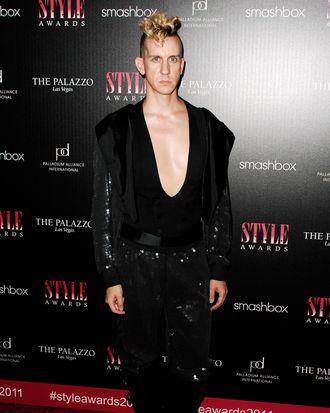 Jeremy Scott== 2011 Hollywood Style Awards== Smashbox Studios, West Hollywood, CA== November 13, 2011==