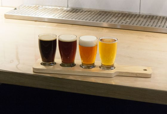 Beer flight: Any four small pours from the restaurant's draft selection.