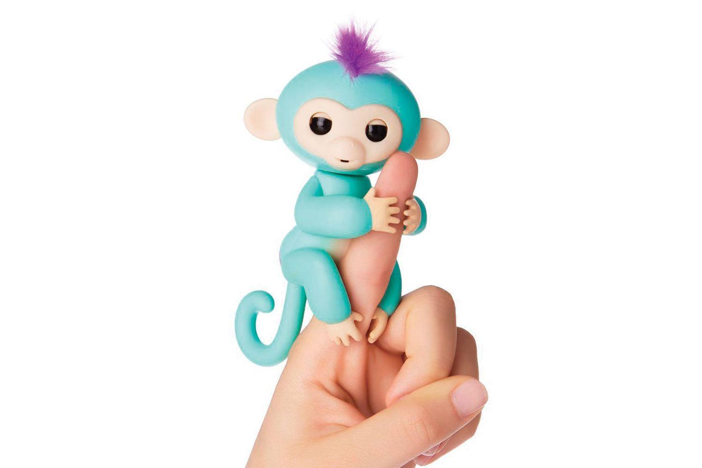 Fingerlings Baby Monkey, Zoe, Turquoise