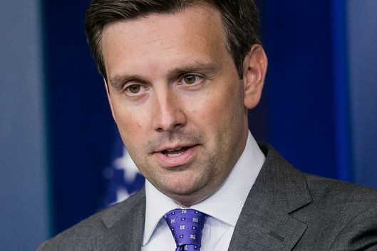 White House Deputy Press Secretary Josh Earnest speaks during a daily briefing on August 21, 2013 in Washington, DC. Earnest stressed the administration's desire that UN investigators be granted access in Syria to determine whether chemical weapons were in fact used by the Asad regime.