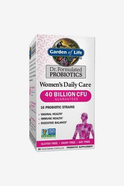 Garden of Life Women's Probiotics Daily Care Capsules