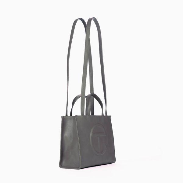 Telfar Medium Grey Shopping Bag