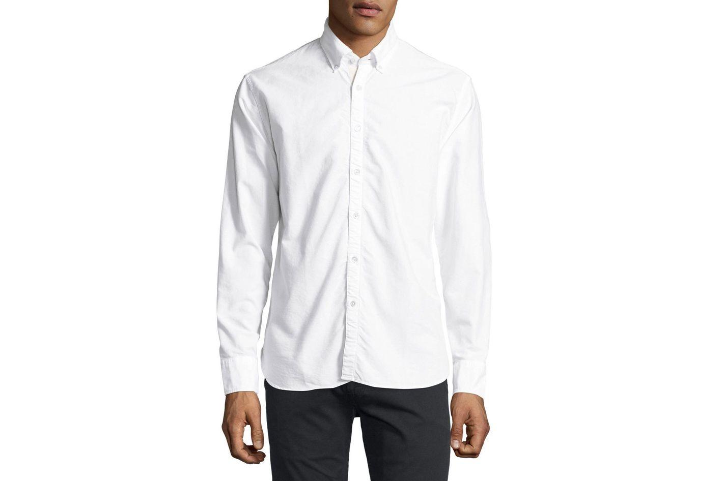 Billy Reid Cotton Oxford Shirt