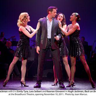 Hugh Jackman, Back on Broadway Broadhurst Theatre