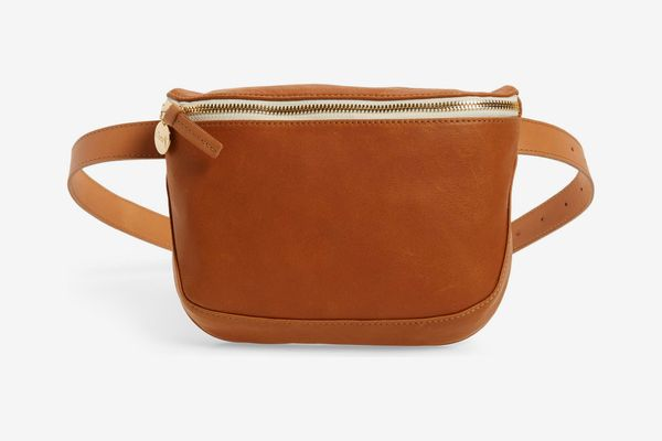Clare V. Leather Fanny Pack