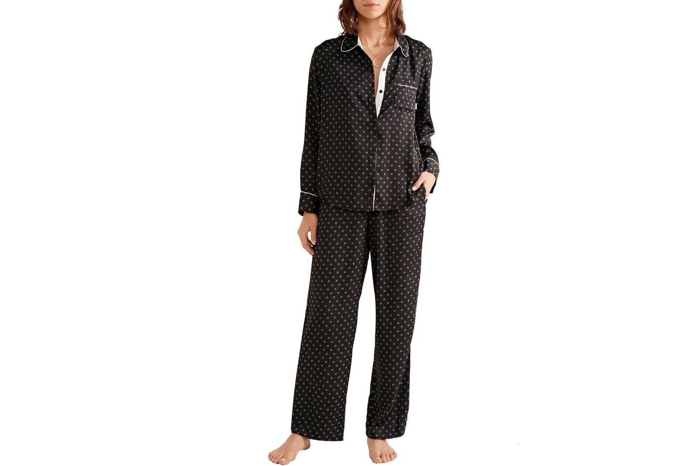 DKNY Printed Pajama Set