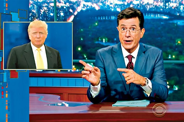 Donald Trump Is a Gift, and a Quandary, for Late-Night Hosts