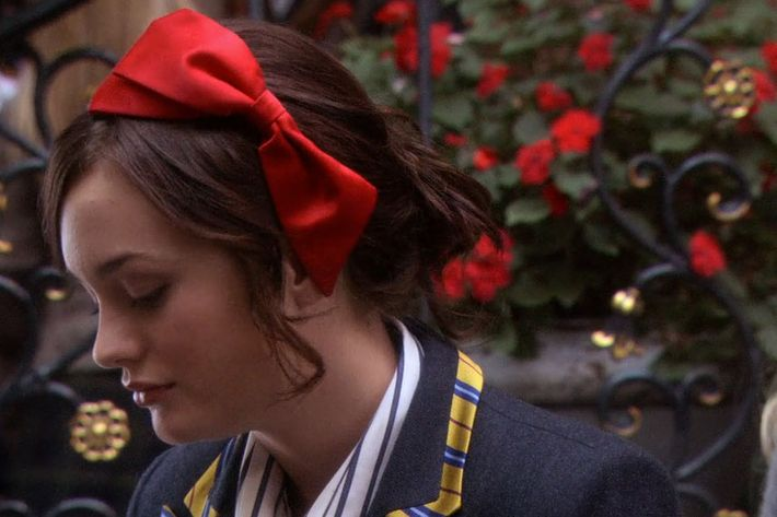 Image result for blair waldorf, headbands