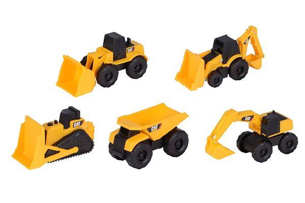 Toy State Caterpillar Construction Mini Machine 5-Pack