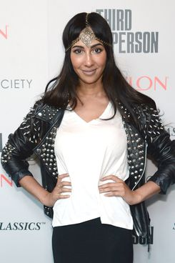 "NEW YORK, NY - JUNE 17: Jackie Cruz attends Sony Pictures Classics' ""Third Person"" screening hosted by The Cinema Society and Revlon at Landmark Sunshine Cinema on June 17, 2014 in New York City.  (Photo by Dimitrios Kambouris/Getty Images)"