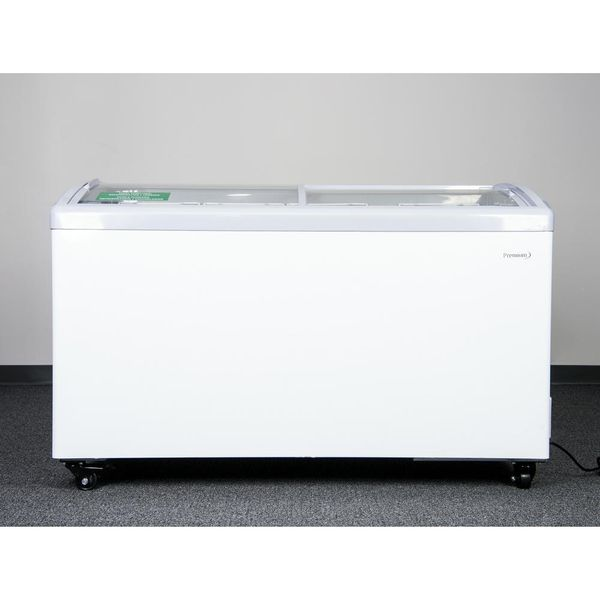 Premium 9.5-cubic-foot Curved-Glass-Top Chest Freezer (Available Now)